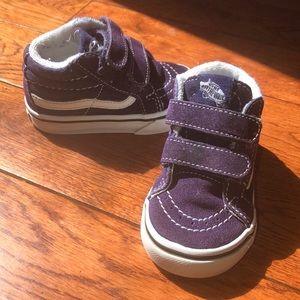 Vans toddler US 4 skate shoe
